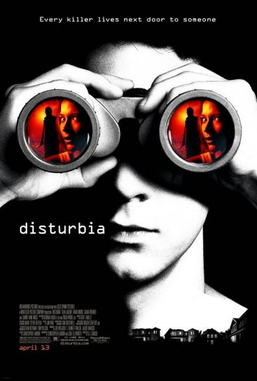 DISTURBIA Movie Poster 4' x 6' Rare 2007 NEW