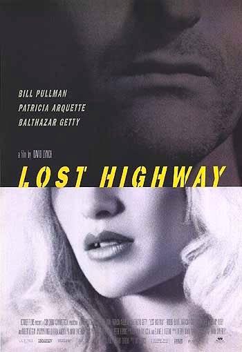 """David Lynch's LOST HIGHWAY Movie Poster * PATRICIA ARQUETTE * 27"""" x 40"""" Rare 1997 NEW"""