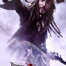 PIRATES of The Caribbean AT WORLDS END Movie Poster * JOHNNY DEPP * 4' x 6' Rare 2007 NEW