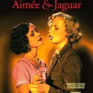 "AIMEE & JAGUAR Movie Poster * MARIA SCHRADER & JULIANE KOHLER * 27"" x 40"" Rare 1999 NEW"