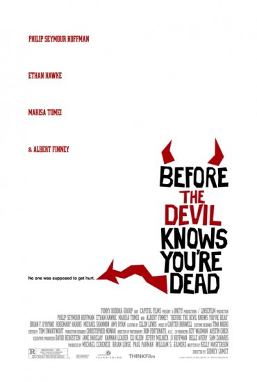 "BEFORE THE DEVIL KNOWS YOUR DEAD Original Movie Poster 27""x 40"" Rare 2007 Mint"