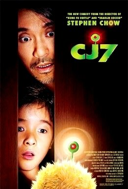 "Stephen Chow's C J 7 Movie Poster  27""x 40"" Rare 2008 NEW"