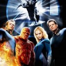 Fantastic 4 Movie Poster * RISE of THE SILVER SURFER * 4' x 6' Rare 2007 NEW