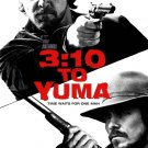 3:10 TO YUMA Movie Poster * CHRISTIAN BALE & RUSSELL CROW * 4' x 6' Rare 2007 NEW