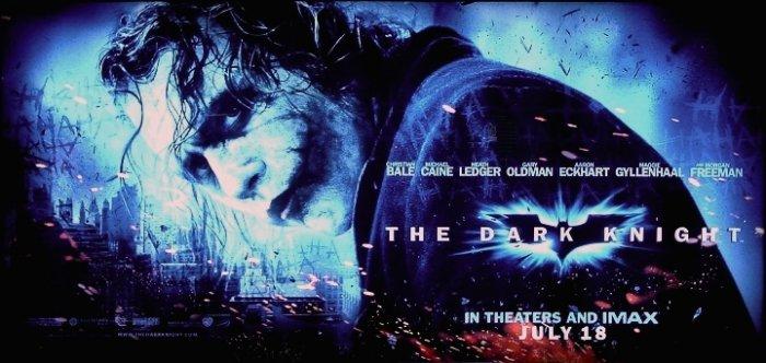 DARK KNIGHT Movie Poster * HEATH LEDGER * 3' x 6' Rare 2008 NEW