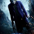 DARK KNIGHT Movie Poster * HEATH LEDGER * 2' x 4' Rare 2008 NEW