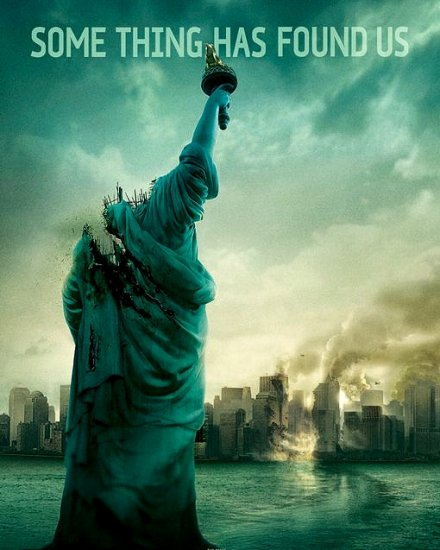 J.J. Abrams CLOVERFIELD Movie Poster 4' x 4' Rare 2008 NEW
