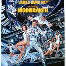 "James Bond 007 MOONRAKER Movie Poster * Roger Moore * 20""x 27"" Rare 1979 MINT"