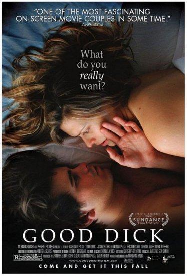 "GOOD DICK Movie Poster * JASON RITTER & MARIANNA PALKA * 27"" x 40"" Rare 2008 NEW"