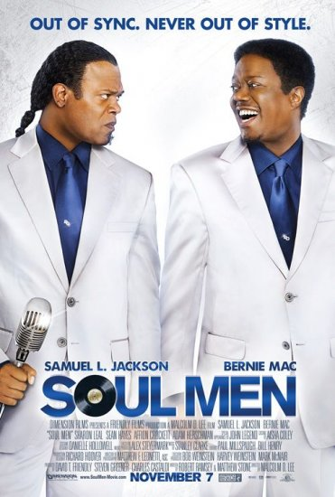 SOUL MEN Movie Poster * BERNIE MAC & SAMUAL L JACKSON * 2' x 3' Rare 2008 NEW