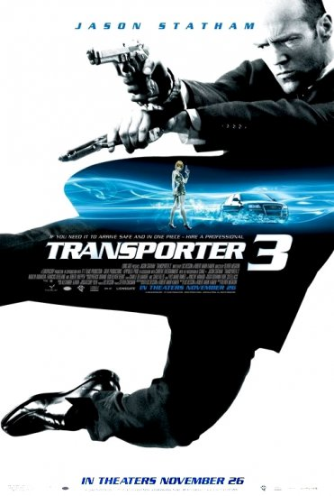 Besson's TRANSPORTER 3 Movie Poster * JASON STATHAM * 4' x 6' Rare 2008 NEW