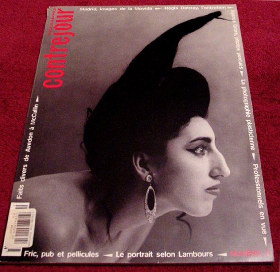 CONTREJOUR Fine Art Photo Journal * Bettina Rheims ~ Andy Warhol ~ Nudes * Rare 1995 Mint
