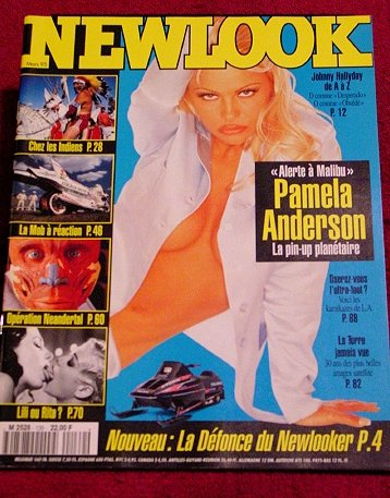 NEW LOOK Fine Art Photo Journal * Europe / Pam Anderson / Nudes * Rare 1995 Mint