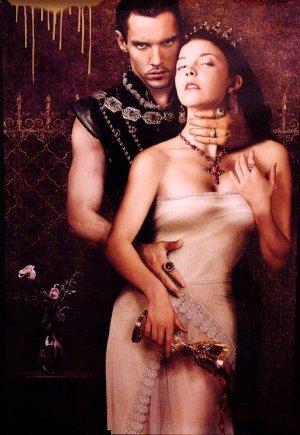 THE TUDORS Poster * JONATHAN RHYS MEYERS & NATALIE DORMER * Showtime 2' x 3' Rare 2008 NEW