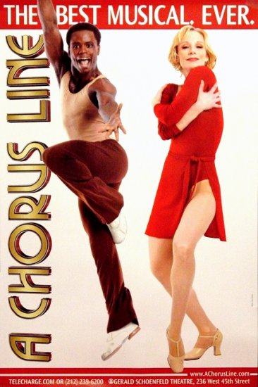 A CHORUS LINE Original Broadway Poster Set NYC 2' x 3' Rare 2007 MINT
