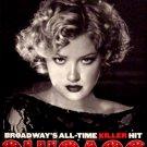 "CHICAGO Broadway Poster * GLITTER * 14"" x 22"" Rare 2008 NEW"