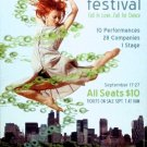"NEW YORK CITY CENTER Dance Poster * FALL FOR DANCE * 14"" x 22"" Rare 2008 NEW"