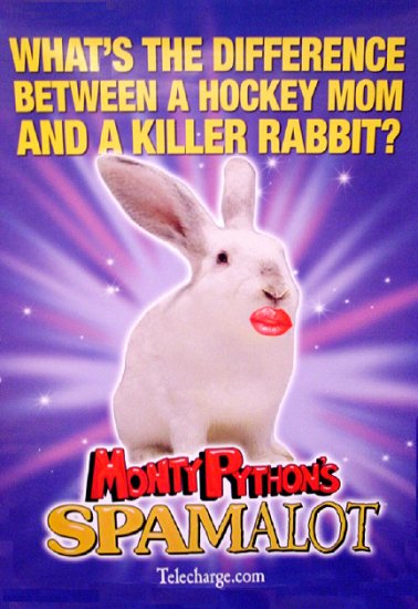 Monty Python's * SPAMALOT * Original Broadway Poster 3' x 4' Rare 2008 MINT