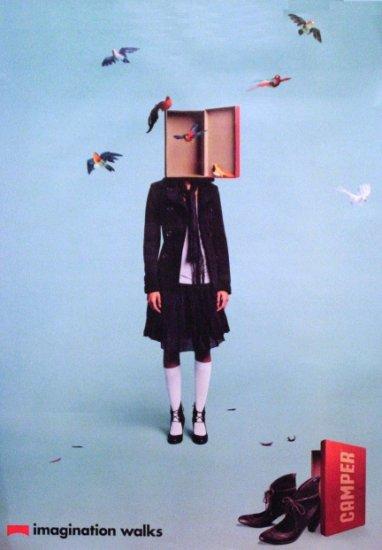 Camper Shoes * IMAGINATION * Original AD Poster SET 3' x 4' 2007 Mint