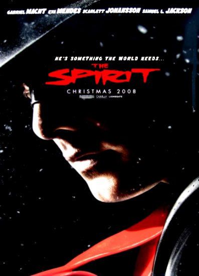 Frank Miller's THE SPIRIT Movie Poster * GABRIEL MACHT * 4' x 6' Rare 2008 NEW