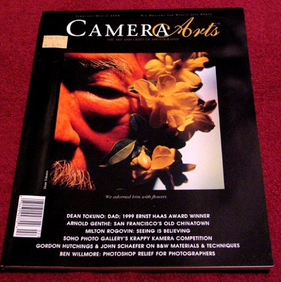 CAMERA ARTS FineArt Photo Journal * ERNST HAAS AWARDS * Rare 1999 Mint
