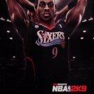 NBA BASKETBALL 2K9 Original Game Poster SET XBOX 2' x 3' New 2008