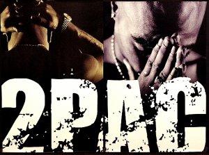 TuPac 2Pac * THUG & LIFE I & II * Poster SET 2' x 3' Rare 2007 MINT
