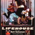 "LIFEHOUSE Concert Poster ROSELAND NYC 17"" x 22"" Rare NEW 2008"