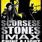 The Rolling Stones * SHINE A LIGHT * Original Movie Poster HUGE 4' x 6' Rare 2008 Mint