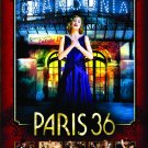 "PARIS 36 Movie Poster * GERARD JUGNOT * 27"" x 40"" Rare 2009 NEW"