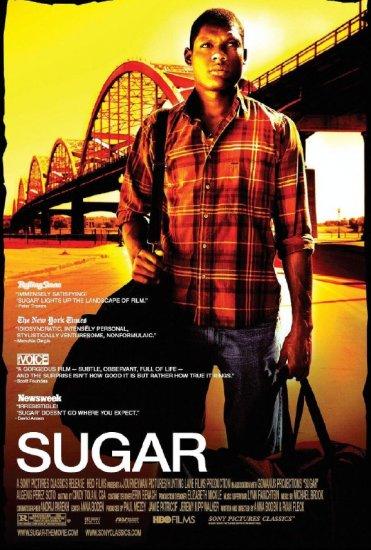 "SUGAR Movie Poster * ALGENIS PEREZ SOTO * 27"" x 40"" Rare 2009 NEW"