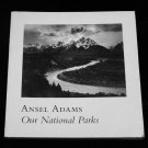 Ansel Adams *Our National Parks * First Edition Photography Book 1992 MINT