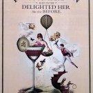 Hendrick's Gin Original AD Poster * CUCUMBERS DELIGHT * 2' x 3' NEW 2009 Rare