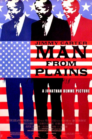 "Demme's MAN FROM PLAINS Original Movie Poster * Jimmy Carter * 27"" x 40"" Rare 2007 Mint"