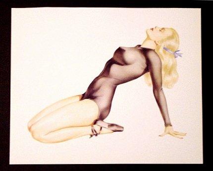 Varga-Vargas * DANCER * Pin Up Collectors Print ~ Mint