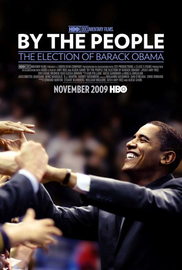 By the People * The Election of Barack Obama * HBO Movie Poster HUGE 4' x 5' Rare 2009 NEW