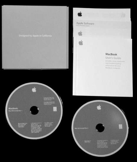 Apple MacBook OSX 10.4.6 Install DISC SET * ONLY * for 2ghz Core Duo NEW