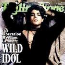 "Adam Lambert * WILD IDOL * Original Music Poster 27"" x 40"" Rolling Stone Cover Rare 2009 Mint"