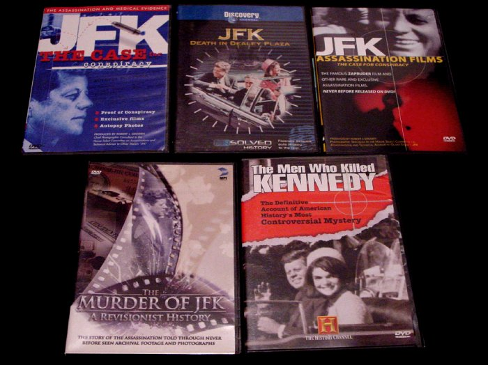 JFK Assassination Conspiracy Definitive DVD Collection ( 6 ) RARE NEW