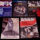 JFK Assassination Conspiracy Definitive DVD Collection ( 6 ) RARE NEW
