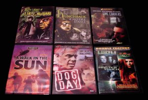 DVD Movie Collection ( 8 ) Rare & Obscure Horror , Crime & Drama ~ NEW