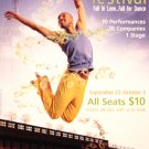 "NEW YORK CITY CENTER Dance Poster * FALL FOR DANCE * 14"" x 22"" Rare 2009 NEW"