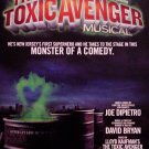 "David Bryan's * THE TOXIC AVENGER * Off-Broadway Poster 14"" x 22"" Rare 2009 MINT"