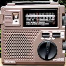 GRUNDIG FR-200 SW AM FM Emergency Crank Wind Radio NEW