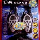 Midland GXT900VP4 * H20 * 42-Channel 30 MILE 2-WAY WALKIE TALKIE RADIOS ( Pair of 2 ) NEW
