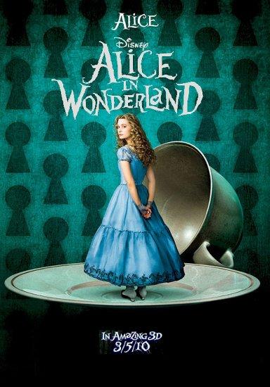 alice in wonderland original movie poster