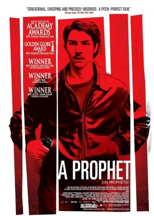 """A PROPHET ( Un prophète ) Movie Poster * TAHAR RAHIM * 27"""" x 40"""" Rare 2009 NEW"""
