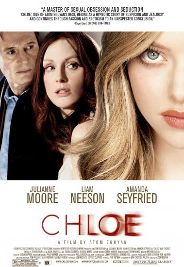 "Atom Egoyan's * CHLOE * Movie Poster * LIAM NEESON * 27"" x 40"" Rare 2009 NEW"