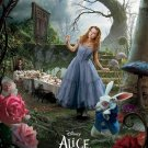 Tim Burton's Alice in Wonderland Orig Movie Poster * ALICE * 4' x 6' Huge Rare 2010 NEW