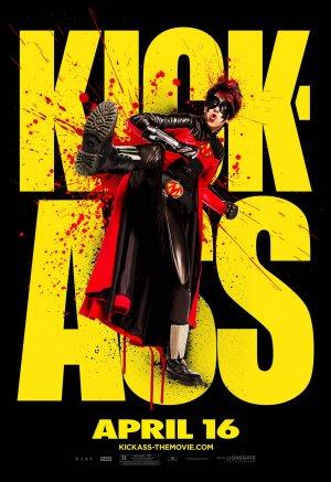 KICK-ASS Original Movie Poster * RED MIST * 4' x 6' Rare 2010 NEW